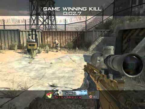 Seexy Moster - MW3 Game Clip