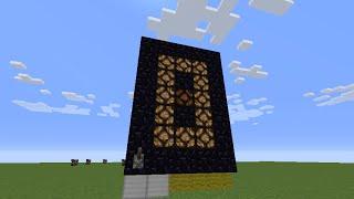 【Minecraft】カウンターの作り方 1