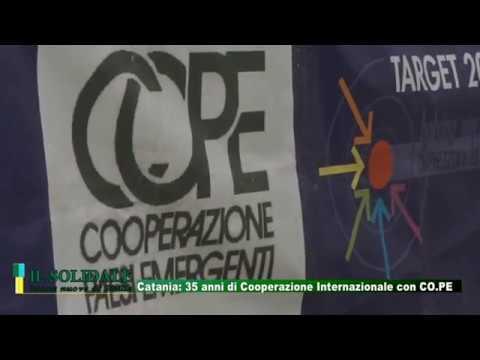 Video: Catania. 35 anni di Cooperazione Internazionale con CO.PE (Cooperazione Paesi Emergenti)
