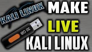 getlinkyoutube.com-How To Make Kali Linux Bootable USB-Make Kali Linux Bootable USB   kali linux live usb install