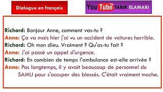Dialogue en français Niveau A1 02