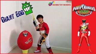 getlinkyoutube.com-จูเดน เซนไท เคียวริวเจอร์ ดาบ เมตตาไข่ประหลาดใจ GIANT EGG Power Rangers Dino Charge Surprise Egg