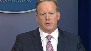 getlinkyoutube.com-Press Secretary Sean Spicer gives first White House briefing