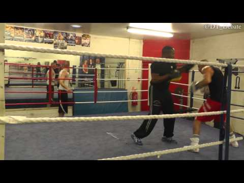 Training With Chris (The Flash) Evangelou