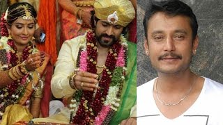 getlinkyoutube.com-Why Darshan Didn't attend the Yash Radika Pandit Marriage ?? || Yash and Darshan Clash