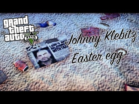GTA V ONLINE: Johnny Klebitz Easter egg
