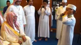getlinkyoutube.com-Sesi Talaqqi Azan Bersanad Amnan bersama Syeikh Ali Ahmad Molla, Bilal Masjidil Haram