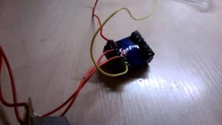 getlinkyoutube.com-Преобразователь напряжения с 12 в 220 вольт своими руками