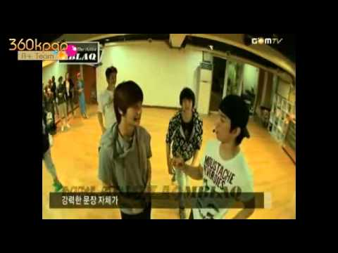[Vietsub]MBLAQ - Gomtv Making the Artist Ep2 {A+ Team} 1/2