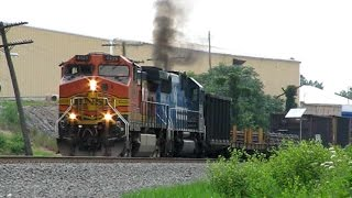 getlinkyoutube.com-Trains on the Norfolk Southern Harrisburg Line 2008: Volume 2