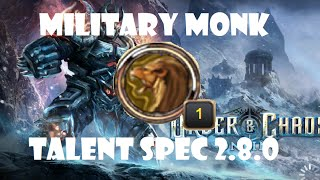 getlinkyoutube.com-Military Monk Talent Spec + 2v2 Arena Gameplay: Order and Chaos 2.8.1