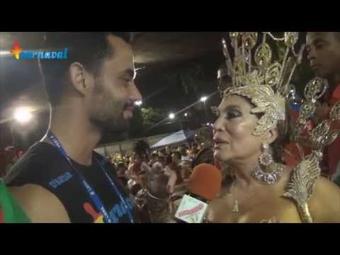Carnaval 2015 || Susana Vieira, rainha de bateria da Grande Rio