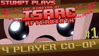 getlinkyoutube.com-The Binding of Isaac: Afterbirth Co-op - #1 - Hush Baby (4 Player Gameplay)