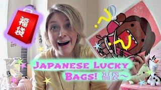 getlinkyoutube.com-Lucky Bag! 日本のふくぶくろ〜Happy 2015!