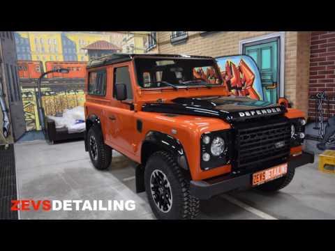 Range Rover Defender – полировка и защита кузова