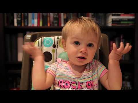 Dad interrogates 1 year old daughter...