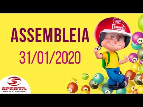 Sperta Consórcio - Assembleia - 31/01/2020