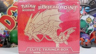 Opening A BreakPoint Gyarados Elite Trainer Box!