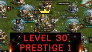 getlinkyoutube.com-LEVEL 30 PRESTIGE 1 (CLASH OF KINGS WINGS) STRONGER TROOP ATTRIBUTES!!!
