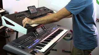 getlinkyoutube.com-Comparison Korg Pa4X VS Yamaha Tyros 5 w MusicExpress