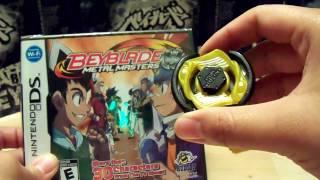 getlinkyoutube.com-Beyblade Metal Masters Nintendo DS Game w/ VULCAN HORUSEUS 145D