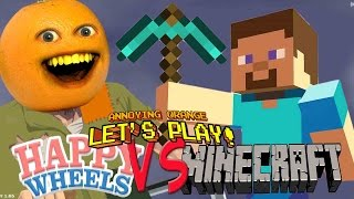 getlinkyoutube.com-Annoying Orange Plays - Happy Wheels Minecraft!