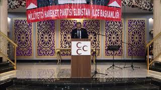 MHP Elbistan Belediye Aday Adayı Fatih Özcan partilileri ile buluştu