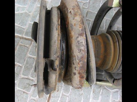 Замена опорных подшипников амортизаторов на Peugeot 406