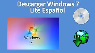 Descargar Windows 7 Lite Español 32 bits Mega (512 MB de RAM)