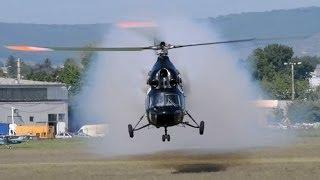 getlinkyoutube.com-PZL Mi-2 extreme low pass at RedBull-Class FM Morning show, Budaörs