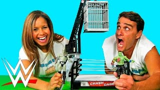 getlinkyoutube.com-WWE Zombie Crash Cage Match ! | Blind Bag Show Ep60 || Konas2002