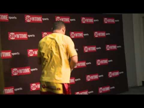Marcos Maidana - Final Moments Before the Broner Fight - SHO