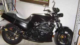 Kawasaki GPZ 600R work Old Fighter