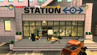 getlinkyoutube.com-The LEGO Movie Video Game - Emmet (Master Builder) free roam