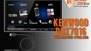 getlinkyoutube.com-Review KENWOOD DDX7016BT & KCA-WL100 Demo By Cartens® Store.Com