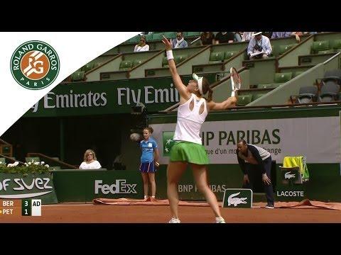 A. Petkovic v. K. Bertens 2014 French Open Women`s R4 Highlights