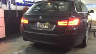 getlinkyoutube.com-BMW 530d Touring F11 Active Sound Retrofit inkl. Soundbooster