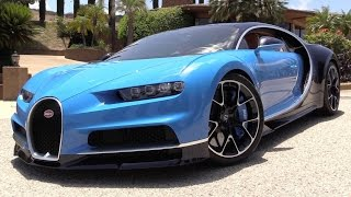 getlinkyoutube.com-2017 Bugatti Chiron - Start Up, Exhaust & In Depth Review