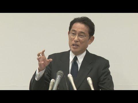 総裁選対応、明言せず 岸田氏「1年先の話」