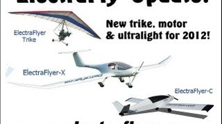 getlinkyoutube.com-ElectraFlyer, Randall Fishman's new ElectraFlyer trike, ultralight and electric motor.