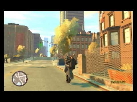 empinando Moto No Gta IV !! Game Play ##