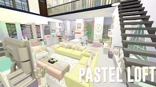 getlinkyoutube.com-Sims 4 || SPEED BUILD: Let's Decorate - PASTEL LOFT
