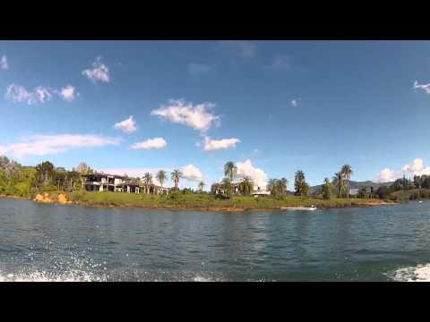 Finca de Pablo Escobar en ruinas en Guatape