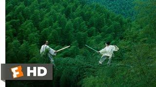 getlinkyoutube.com-Crouching Tiger, Hidden Dragon (7/8) Movie CLIP - Bamboo Forest Fight (2000) HD
