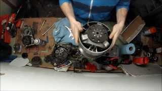 getlinkyoutube.com-Skidoo clutch totorial (JB Weld Fix to rubber external disk)