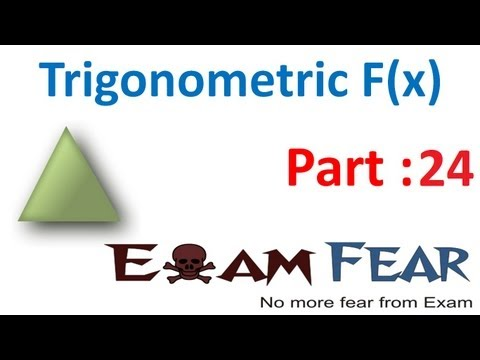 Maths Trigonometry part 24 (Problems) CBSE class 11 Mathematics XI