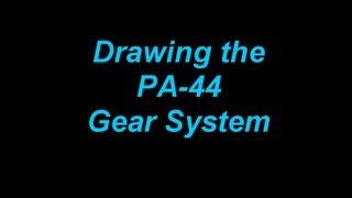getlinkyoutube.com-Drawing the PA-44 Gear System