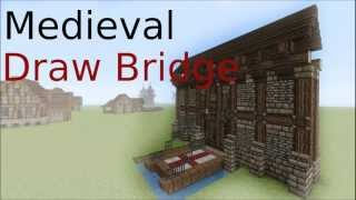 getlinkyoutube.com-Minecraft Drawbridge tutorial