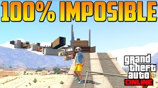 getlinkyoutube.com-PARKOUR 100% IMPOSIBLE CONSEGUIDO!! - Gameplay GTA 5 Online Funny Moments