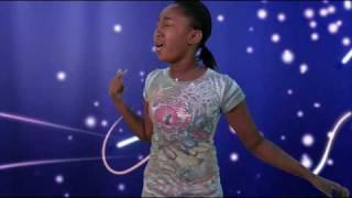 """getlinkyoutube.com-Girl sings Beyonce's """"Listen"""" in MyStudio"""